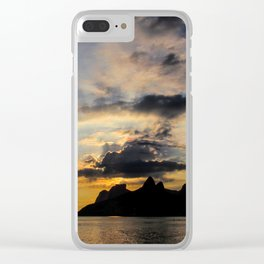 Ipanema Beach Clear iPhone Case