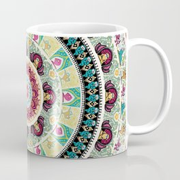 Sloth Yoga Medallion Coffee Mug
