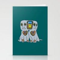 gemini Stationery Cards featuring Gemini by NIXA
