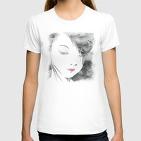 geisha T-shirts featuring Geisha by Nxolab