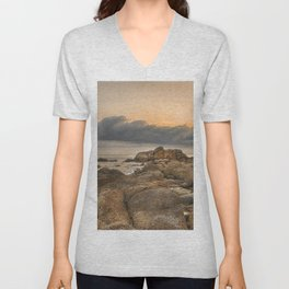 Stones, Ocean and Heaven Unisex V-Neck