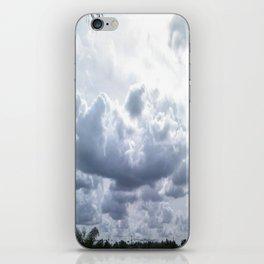 Tut Tut, It Looks Like Rain iPhone Skin