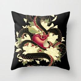 PURO VENENO Throw Pillow