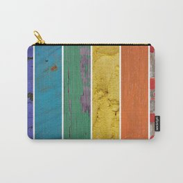 texture rainbow Carry-All Pouch