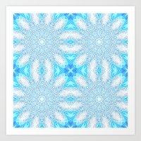 frozen Art Prints featuring Frozen  by 2sweet4words Designs