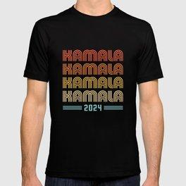 Kamala 2024 - Vintage Retro Sunset T-shirt