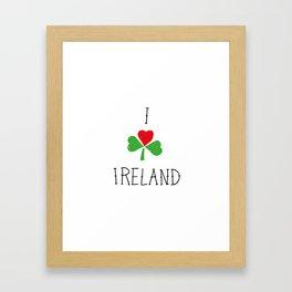 Ireland Framed Art Print