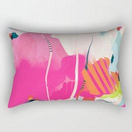 pink sky II Rectangular Pillow