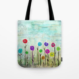 Wicked little flowers. Tote Bag