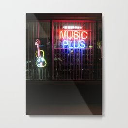 Music Always Round us Metal Print