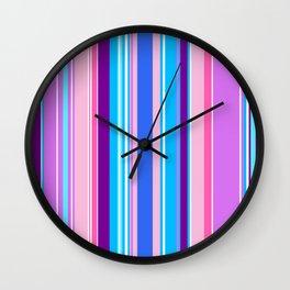 Stripes-016 Wall Clock