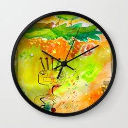 Lluvia de conciencia Wall Clock