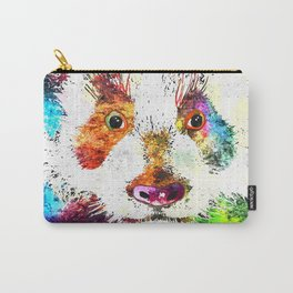 Giant Panda Grunge Carry-All Pouch