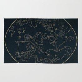 Winter Constellations Rug