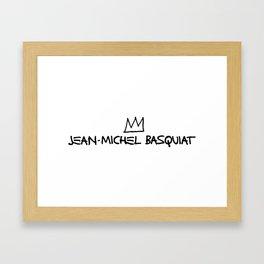 BASQUIAT Framed Art Print