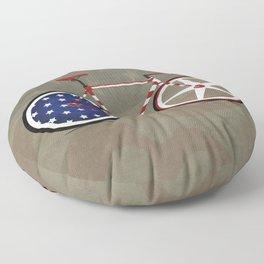 Bike America Floor Pillow