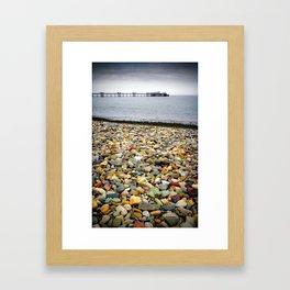 Llandudno Rocks Framed Art Print