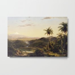 Frederic Edwin Church - Cotopaxi Metal Print