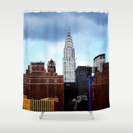 Chrysler Building Shower Curtain