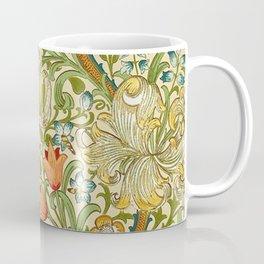 William Morris Golden Lily Vintage Pre-Raphaelite Floral Coffee Mug