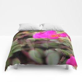 Neon Flower Comforters