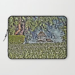 A Middle Ages Church Laptop Sleeve
