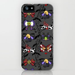 Villains Bows iPhone Case