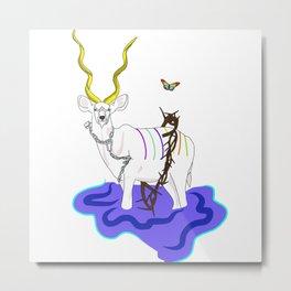Kudu Metal Print