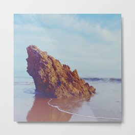 Steadfast Shore Metal Print