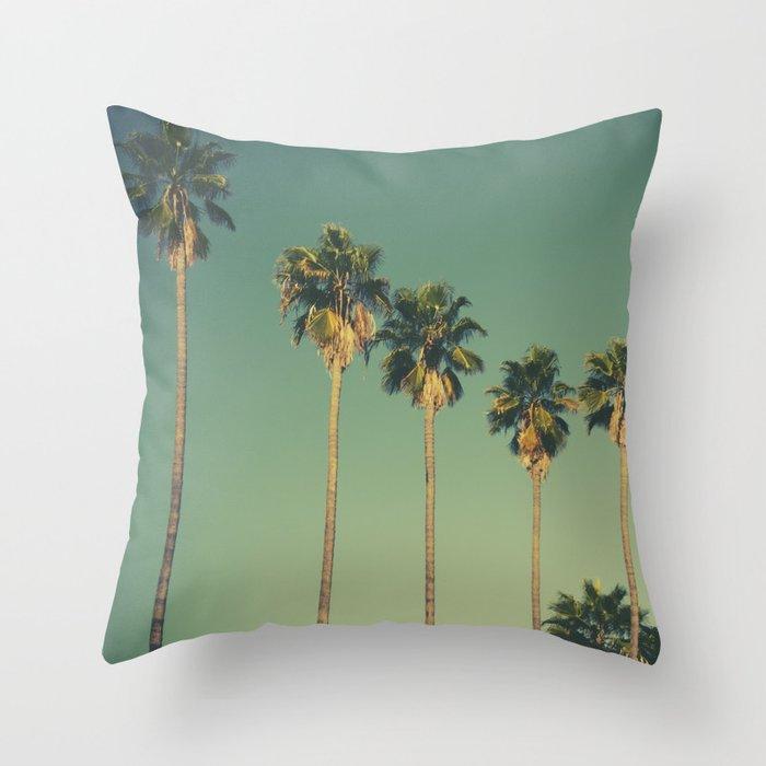 Hollywood Summer Throw Pillow