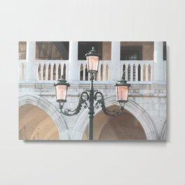 Venice Lights Metal Print