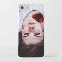 pain iPhone & iPod Cases featuring Pain by Lídia Vives