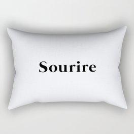 125. Smile Rectangular Pillow