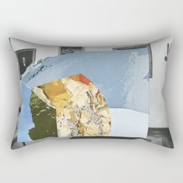 Untitled / Paper collage / 2014 Rectangular Pillow