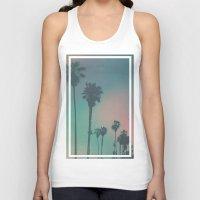venice Tank Tops featuring Venice Beach, CA. by Polishpattern