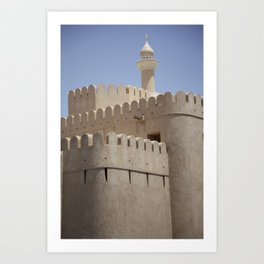 Arabian Castle Art Print
