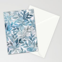 watercolor Botanical garden II Stationery Cards