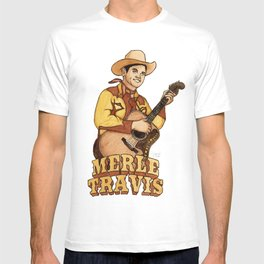Merle Travis T-shirt