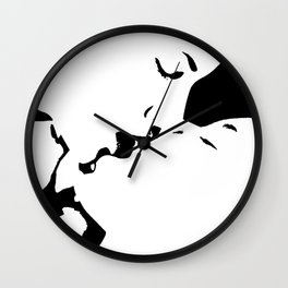 Sexy Abstract 42 Wall Clock