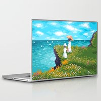monet Laptop & iPad Skins featuring Modern Monet No.1 by Graphics by Hand