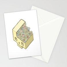 FlowerSkull Stationery Cards