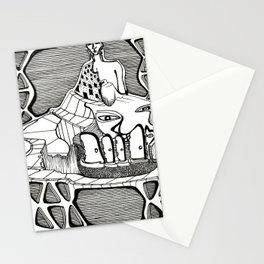 The Structure of Choosing Stationery Cards
