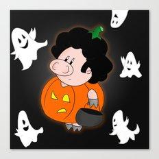Halloweenie Canvas Print