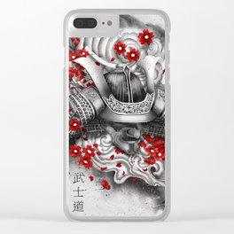 Bushido Clear iPhone Case