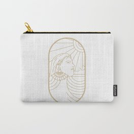 Girl Art Deco 02 Carry-All Pouch