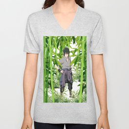 Hero anime 01 Unisex V-Neck