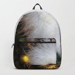 Cute fluffy Snow Owl Backpack