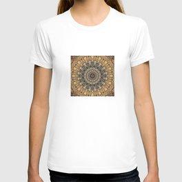 Vintage Blue Mandala T-shirt