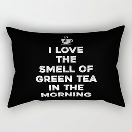 Tea Gift Green Tea Rectangular Pillow