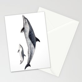 Pantropical spotted dolphin Stationery Cards